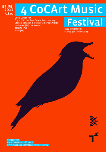 Centre of Contemporary Art and Music Festival Poster 2012